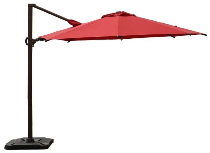 Abba Patio 10 Feet 360°Rotation Offset Cantilever Umbrella