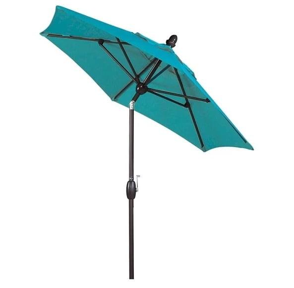 Abba Patio 7.5 Feet Market Umbrella with Push Button Tilt & Crank Review
