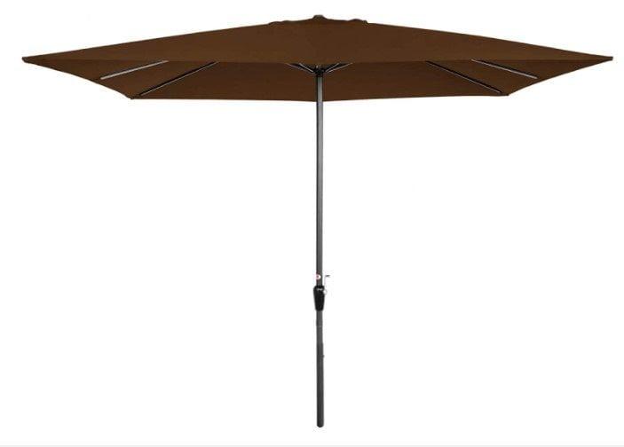 Best Choice Products 8x11ft Rectangular Market Patio Umbrella