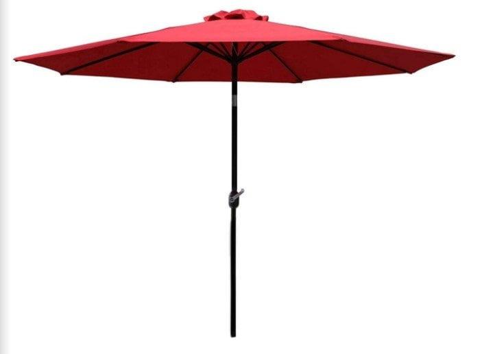 Sunnyglade 9Ft Patio Umbrella Outdoor Table Umbrella (Iron Pole)
