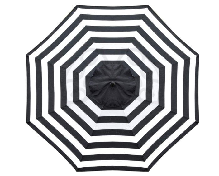 Sunnyglade 9ft Patio Market Umbrella Replacement Outdoor Top Canopy with 8 Ribs