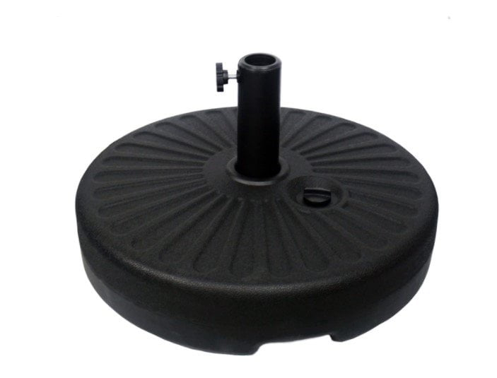 Sunnyglade Heavy Duty 23L Round 20″ Water Filled Patio Outdoor Umbrella Base Stand