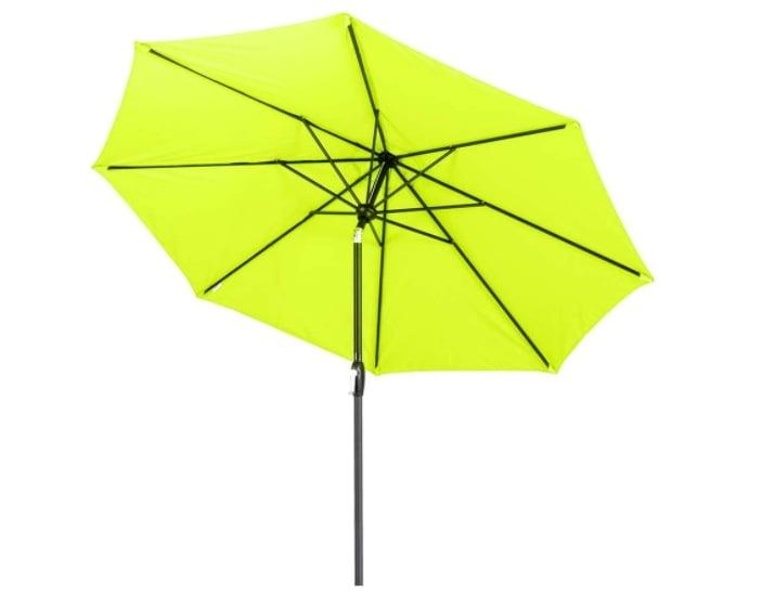 Tempera Patio Umbrella 9 Ft Outdoor Garden Table Umbrella with Push Button Tilt and Crank 8 Ribs Review