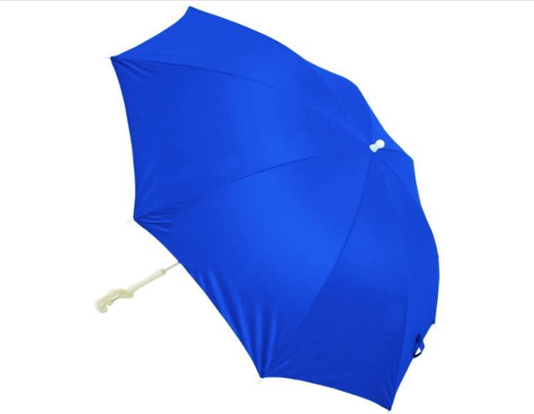 Rio Brands Beach Clamp-on Umbrella, 4', Blue
