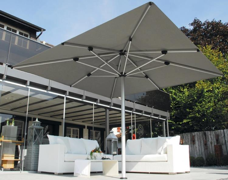 Shademaker 16 ft 4 inches Astral Square Market Umbrella