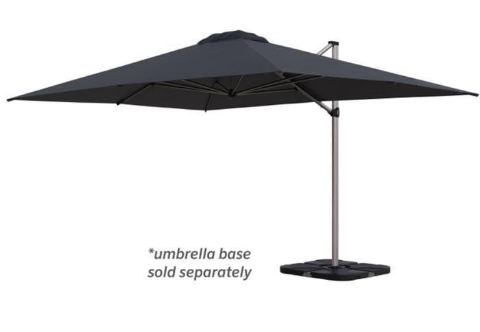 Coolaroo Brampton 3x4m Rectangle Cantilever Umbrella