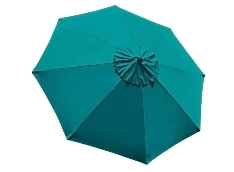 EliteShade 9ft Patio Umbrella Market Table Outdoor Deck Umbrella Replacement Canopy Cover