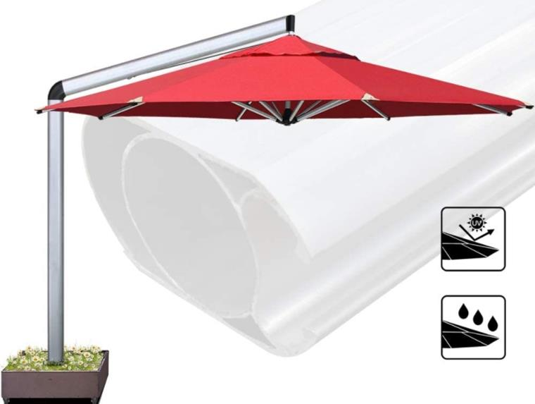 EliteShade Sunbrella 11 Feet Patio Umbrella Outdoor Umbrella Cantilever Umbrella Offset Hanging Umbrella