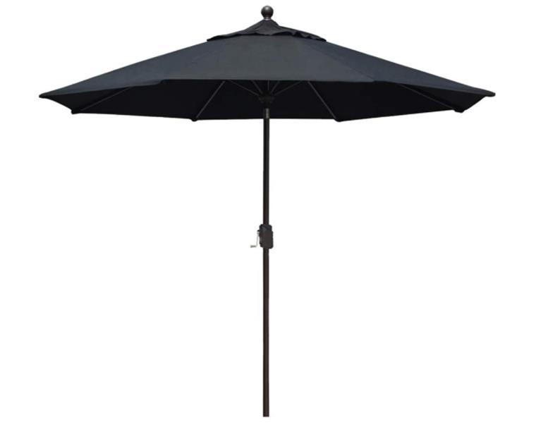 EliteShade Sunbrella 9Ft Market Umbrella Patio Outdoor Table Umbrella with Ventilation
