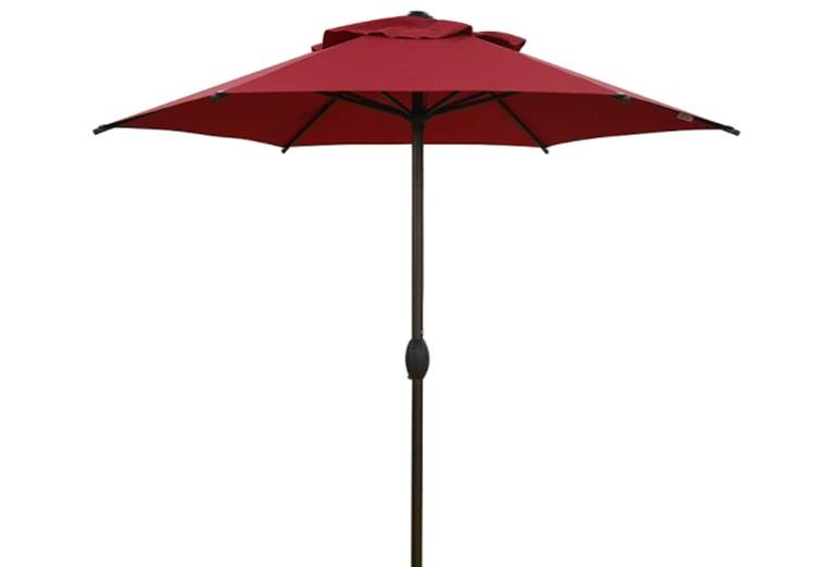 Abba Patio 7.5ft. Round Outdoor Market Patio Umbrella