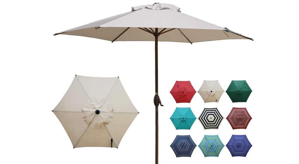 Abba Patio Market Umbrella 11ft Beige